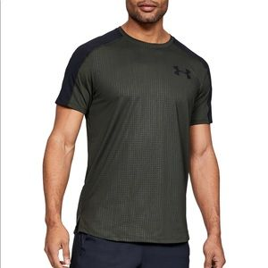 Under Armour Army Green Workout Shirt. NEW S